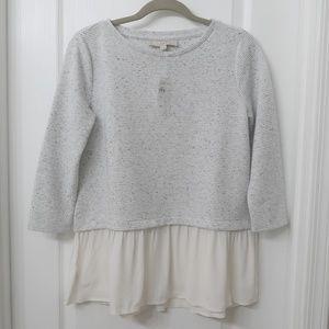 LOFT Peplum Sweater